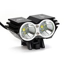 Bemyin 5000Lm 2x CREE XML U2 LED Bicycle Light HeadLight Black