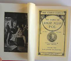 Works Of Edgar Allan Poe The Cameo Edition 9 Vols 1st Thus HCs 1904