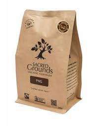 Sacred Grounds Coffee PNG Whole Bean