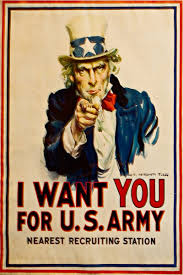Most Of Us Are Familiar With Wartime Propaganda Art Those WWII Era Posters Brightly Colored Slogans Like I Want YOU For The US Army And Smack Em