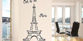 Eiffel Tower Wall Decals For The Bedroom