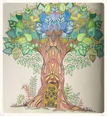 Johanna Basfords Enchanted Forest Tree