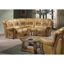 canapé cuir et bois rustique canapé d angle canapé cuir rustique indémodable et pas cher