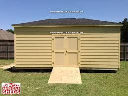 Wood Storage Sheds Jacksonville Fl by Mega Storage Sheds Options Hardie Plank Siding