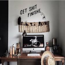 Get Sht Finished Desk Bedroom Rustic Indie Tumblr