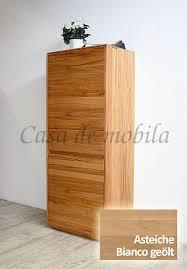 highboard 62x151x42cm nyon rustikale asteiche bianco geölt casade mobila