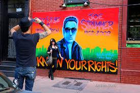 Joe Strummer Mural Address by Joe Strummer Mural The Division 39 Images Joe Strummer Mural