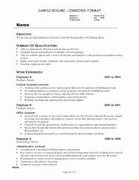Resume For Interview Special Examples Jobs With Little Experience Unique