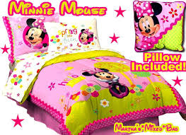 Minnie Mouse Bedroom Set Full Size by Minnie Mouse Full Comforter Set Home Design Ideas