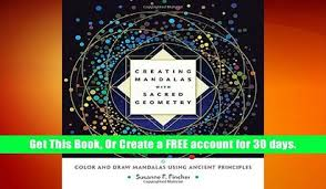 Free Ebook Download Creating Mandalas With Sacred Geometry Color And Draw Using