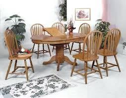 Oak Dining Room Set Crown Mark Dark Kijiji