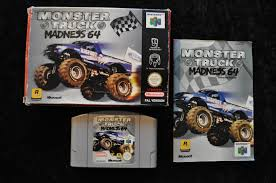 Monster Truck Madness 64 Boxed Nintendo 64 N64 - Retrogameking.com ... Hot Wheels Monster Jam World Finals Xi Truck 164 Diecast Nintendo64ever Les Tests Du Jeu Madness 64 Sur Alien Invasion Scale With Team Flag Extreme Overkill Trucks Wiki Fandom Powered By Wikia Games I Wish For 2 Rumble Hd Wderviebull94 On Previews Of The Game Wheels Water Engines Vehicle Styles May Vary Pulse Storms Snm Speedway Nintendo Review Youtube Executioner