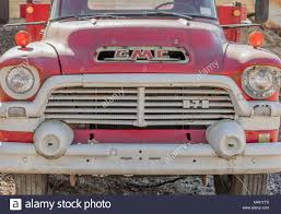 100 Old Gmc Trucks A Closeup Of The Front Of An Old GMC Truck Stock Photo 178535517