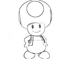 Mario Toad Drawing At Getdrawings Free For Personal Use Mario Pour