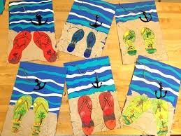 Summer Art Ideas For Kindergarten Easy Crafts Toddlers And Craft Activities