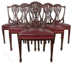 Set Of 6 Mahogany Hepplewhite Dining Chairs 4 Hepplewhite Style Mahogany Yellow Floral Upholstered Ding Chairs Style Ding Table And Chairs Pair George Iii Mahogany Armchairs Antique Set Of 8 English Georgian 12 19th Century Elegant Mellow Edwardian Design Antiques World 79 Off Wood Hogan Side Chair Eight Late 18th Of