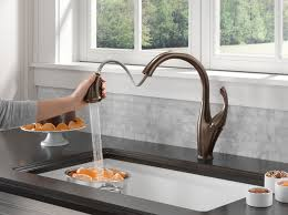 Delta Oiled Bronze Kitchen Faucet by Interior Moen Kitchen Sink Faucet Moen Oil Rubbed Bronze