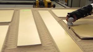 Thermofoil Cabinet Doors Vs Wood by How Thermofoil Rtf 3dl Doors Are Made Youtube