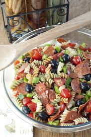 Classic Italian Pasta Salad Is A Colorful And Reliable Go To Recipe