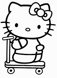 Awesome Collection Of Hello Kitty Coloring Pages Online For Your Cover Letter