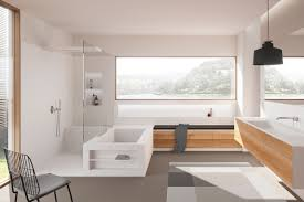 modernes badezimmer mit miraklon elementen hasenkopf