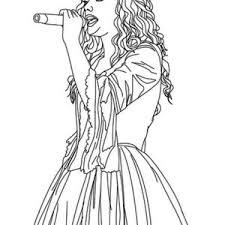 Taylor Swift Coloring Pages Disney 20 Chibi Page