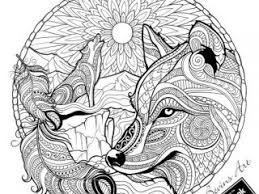 Wolf Coloring Pages For Adults 23 Best Images