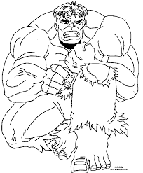 Avengers Coloring Pages Incredible Hulk