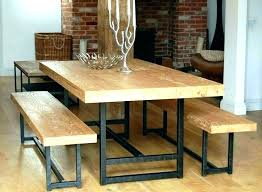 Full Size Of Large Wood Dining Table With Bench Wooden Kitchen Room Benches Mesmerizing Home Design