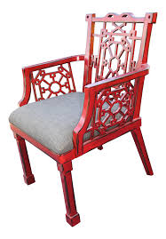 Uttermost Camdon Red Accent Chair
