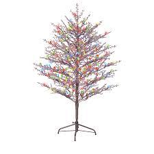 3ft Pre Lit Blossom Christmas Tree by Triyae Com U003d Led Lights For Outdoor Trees Various Design