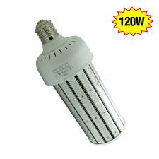 120 watt led corn bulb retrofit pc cover 15317lm ip64 outdoor