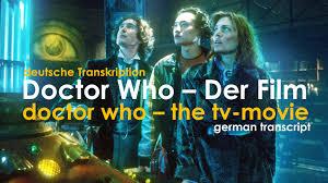 doctor who der transkription doctor who auf