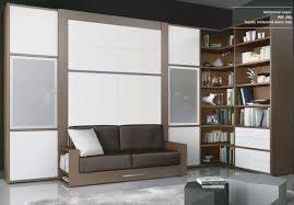 lit avec canapé armoire lit escamotable avec canape squadra jacquelin couchage 140cm