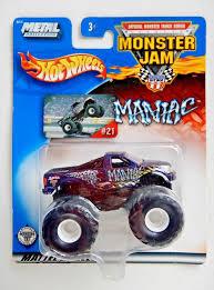 100 Monster Truck Maniac Hot Wheels Jam 2002 21 EBay