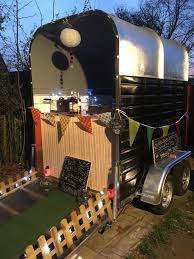 Classic Vintage Horse Trailer Conversion Catering Coffee Weddings Bar Shop