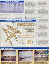 Folding Picnic Table Plans Build by Folding Picnic Table Plans U2022 Woodarchivist