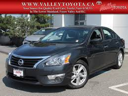 Pre-Owned 2015 Nissan Altima 2.5 SV 4dr Car In Chilliwack #17698A ...