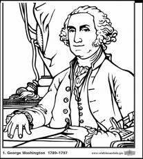 King George III Colouring Pages