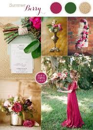 Rich and Wild Summer Berry Wedding Inspiration Pinterest