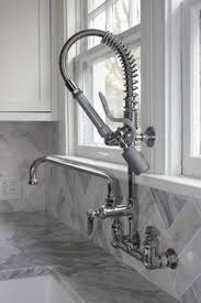 Krowne Commercial Kitchen Faucets by Gooseneck Single Hole Touchless Hybrid Energy Cell Powered