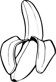 Coloriage Banane Et Dessin à Imprimer