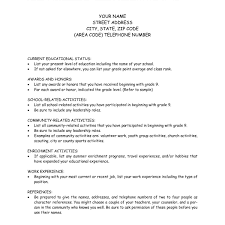 How To Make A Student Resume For College Applications How To Make A