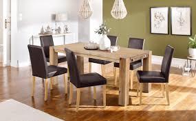 home affaire essgruppe silje set 7 tlg bestehend aus 6 lucca stühlen und dem maggie esstisch
