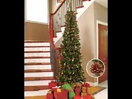slim christmas tree decorating ideas home design and decorating