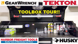 TOOL BOX TOUR!!! Husky, Gearwrench, Power Probe, Harbor Freight ... Attractive Rolling Cabinet Set And Husky Tool Chest Then Truck Bed Toolbox Property Room Boxes The Home Depot Canada This On Wheels Is Touring The Country Box Replacement Locks Best Resource Kobalt Youtube 48 In Alinum Side Mount Black Mechanics Pictures Pickup What You Need To Know About Images Collection Of Drawer Rolling Toolbox Storage Shop At Lowescom