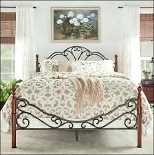 Wrought Iron King Headboard And Footboard by Bedroom Awesome Metal King Headboard And Footboard Romantic Iron