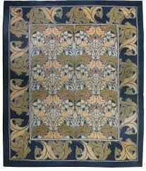Vintage Arts and Crafts Voysey Rug BB2514 by Doris Leslie Blau