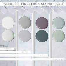 Paint Color For Bathroom With Brown Tile by Colors For Your Marble Bathroom Home Decorating U0026 Painting Advice