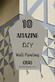 Diy Wall Painting Ideas Interesting 10 Amazing Simple Cool Home Design 13